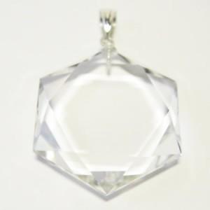 水晶の「ダビデの星・六芒星」
